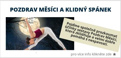 Pozdrav měsíci a klidný spánek - Dům Jógy Praha